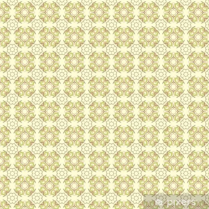 Bez szwu abstrakcyjny wzór kwiatowy, wzór mandali
