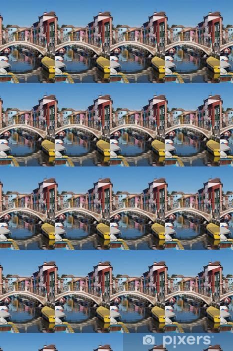 Papier peint vinyle sur mesure Canale - Paysages urbains
