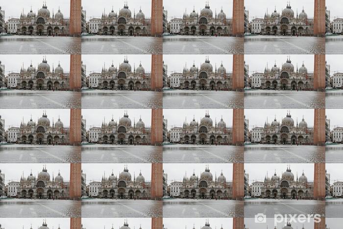 Papier peint vinyle sur mesure Hautes eaux à Venise - Paysages urbains