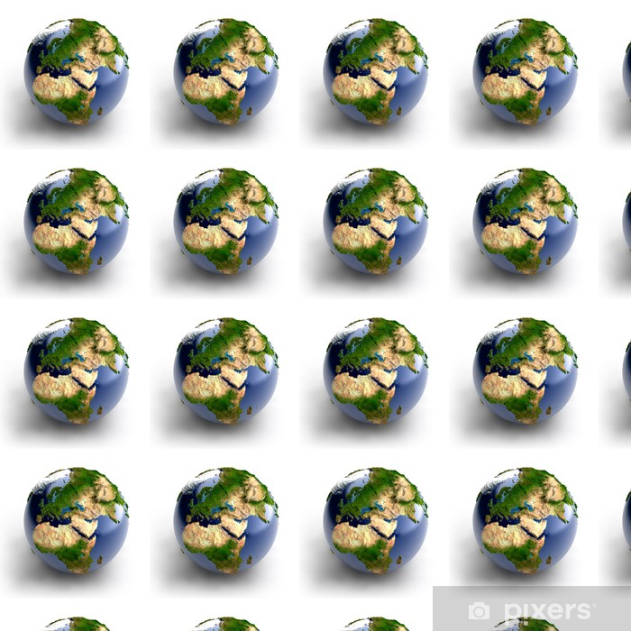 Miniature real Earth Vinyl custom-made wallpaper - Outer Space