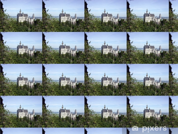 mad king ludwig's castle in germany Vinyl custom-made wallpaper - Europe