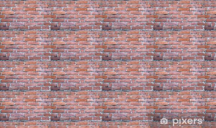 Papier peint vinyle sur mesure Wall brick - Thèmes