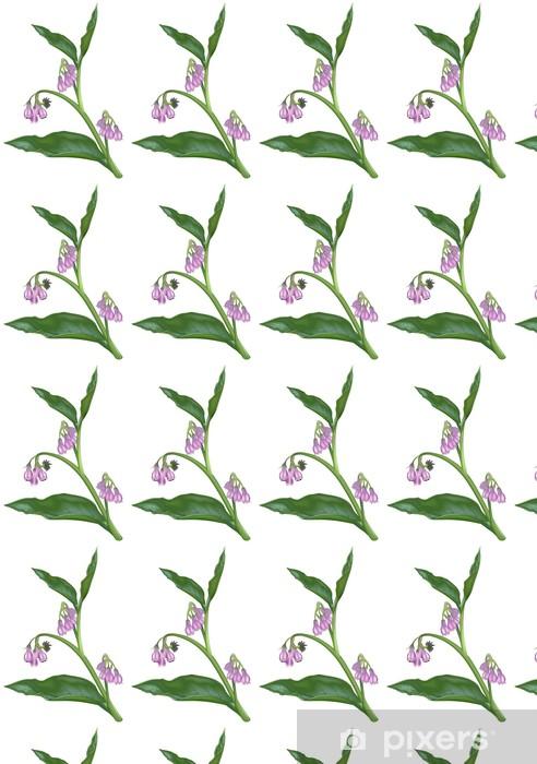 Papel pintado estándar a medida Consuelda (Symphytum officinale) - Plantas
