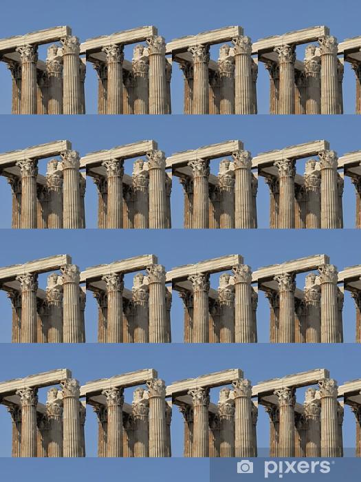 Carta da parati in vinile su misura Grecia - Atene Zeus Olimpio, Tempio di Zeus Olimpio - Città europee