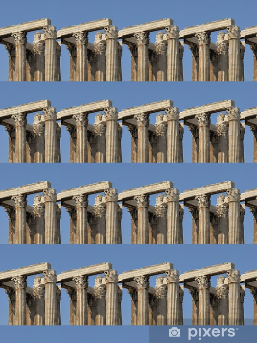Vinyltapete nach Maß Griechenland - Athen, Olympieion, Tempel des Olympischen Zeus - Europäische Städte