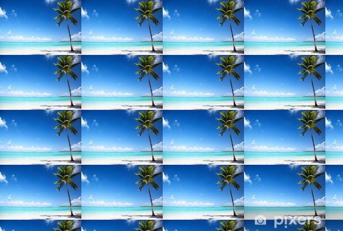 Vinylová tapeta na míru Oceán a palm - Voda