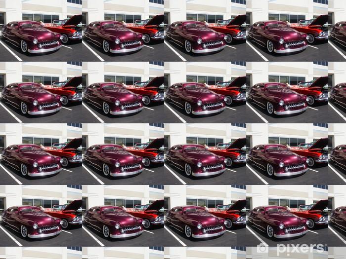 Tapeta na wymiar winylowa Hotrods Car Show - Transport drogowy