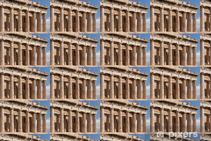 Papier peint vinyle sur mesure Monuments du Parthénon d'Athènes - - Monuments