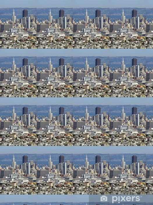 Papier peint vinyle sur mesure San Francisco City - Paysages urbains