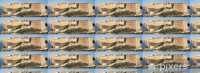 Papier peint vinyle sur mesure Citadelle de Bonifacio - Europe