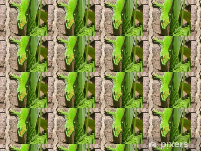 Papier peint vinyle sur mesure Gecko halbportrait @ Maurice - Thèmes