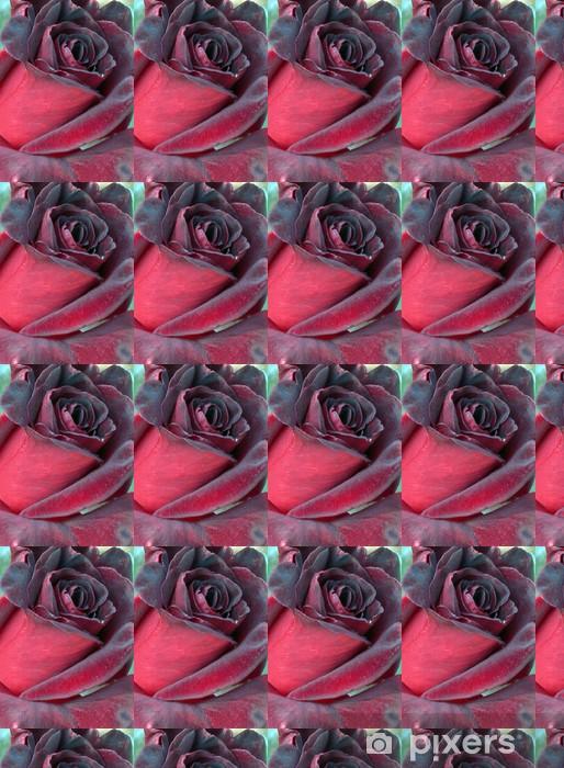 Tapeta na wymiar winylowa Czarny - Kwiaty
