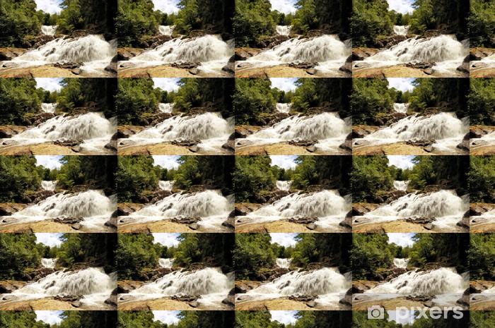 Vinylová tapeta na míru Vodopád - Asie