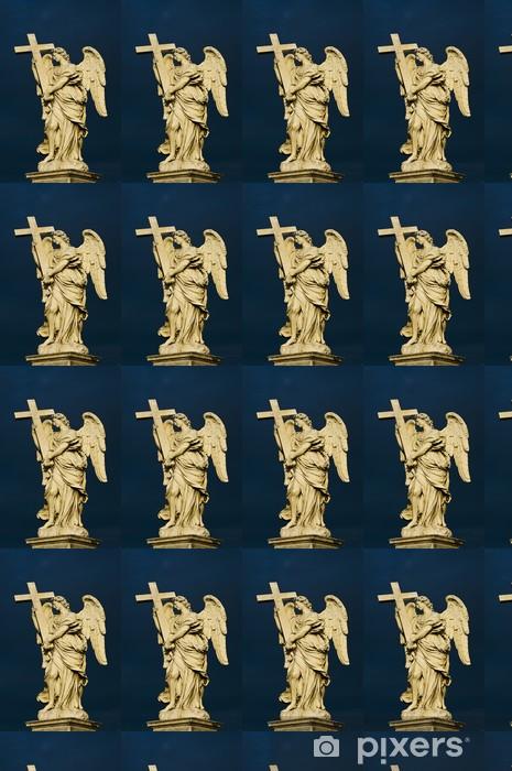 Papier peint vinyle sur mesure Bernini ange avec la croix - Religion