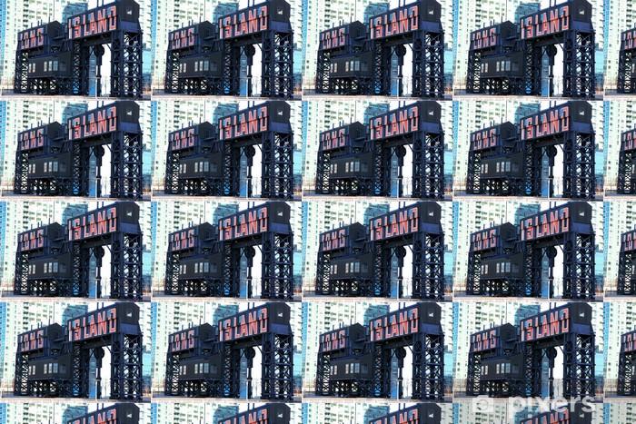 Papier peint vinyle sur mesure Classique NY - Long Island, ancienne entrer -