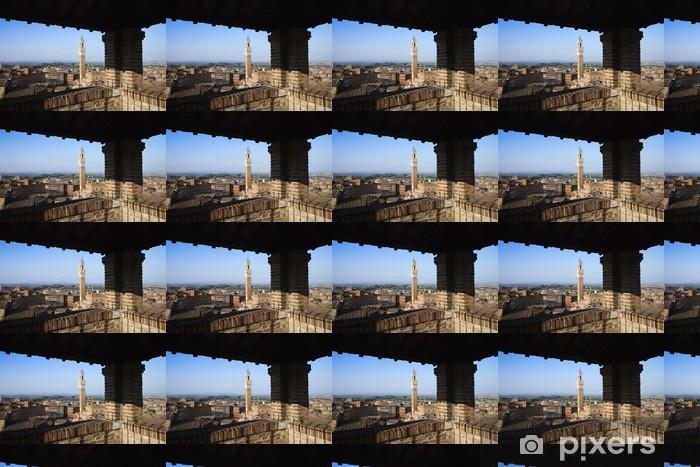 Tapeta na wymiar winylowa Siena Skyline Oglądany Z Dachu objętym - Europa