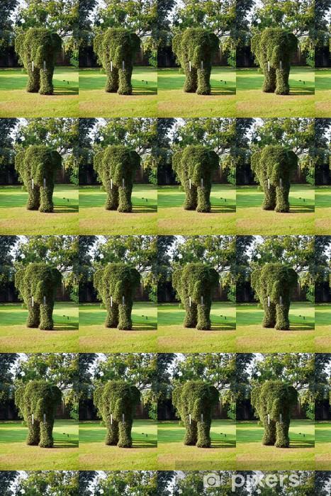 Tapeta na wymiar winylowa Krzewy przycięte do figury słoni w parku Bang Pa-w pałacu - Inne uczucia