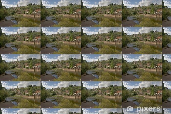 River Severn at Bridgenorth Vinyl custom-made wallpaper - Themes