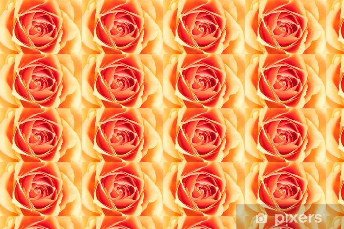Tapeta na wymiar winylowa Piękny pomarańczowy róża - Tematy