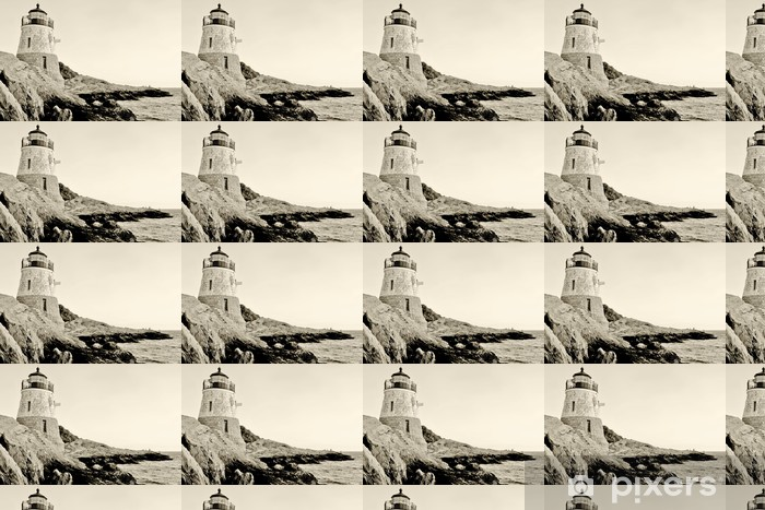 Vinyltapete nach Maß Leuchtturm - Amerika