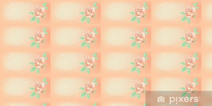 Invitation card. Vector illustration. Vinyl custom-made wallpaper - Backgrounds