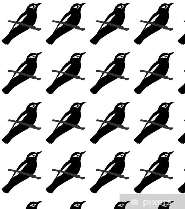 Papier peint vinyle sur mesure Silhouette de loriot - Oiseaux