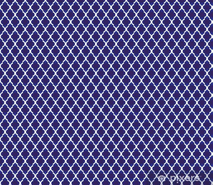 Tapeta na wymiar winylowa Niebieski i biały wzór islamski - Zasoby graficzne