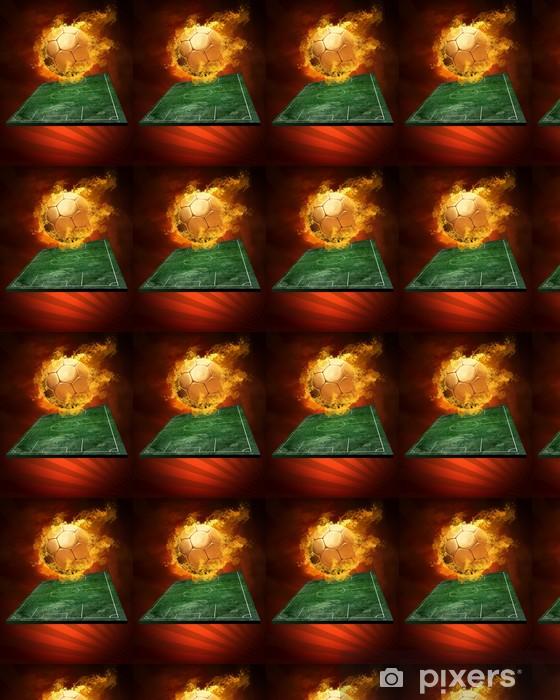 Tapeta na wymiar winylowa Gorąca piłka na szybkość w pożarów płomienia - Mecze i zawody