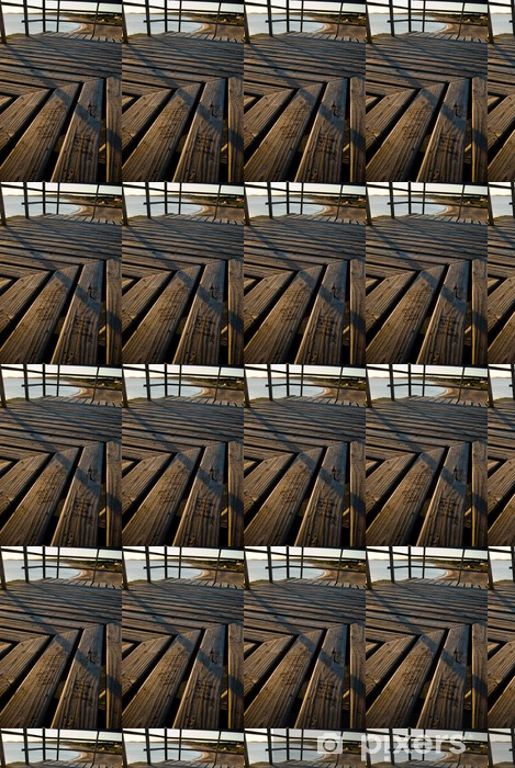 Tapeta na wymiar winylowa Plaża konstrukcja drewniana platforma - Infrastruktura