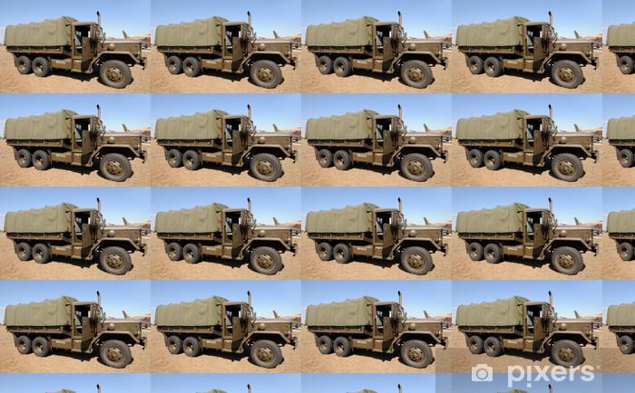 Papel pintado estándar a medida Ejército de camión - Por carretera