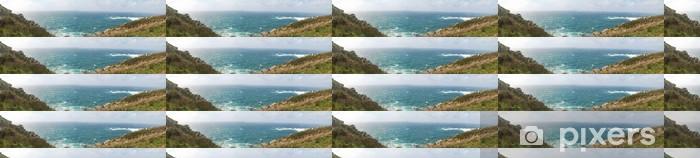 Papel pintado estándar a medida Panorámica costa gallega - Vacaciones