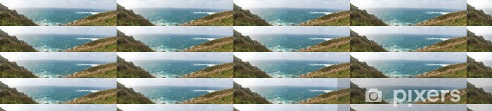 Vinylová tapeta na míru Panoramica Costa Gallega - Prázdniny