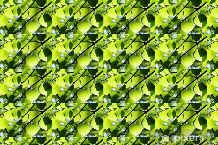 foglie Vinyl custom-made wallpaper - Trees