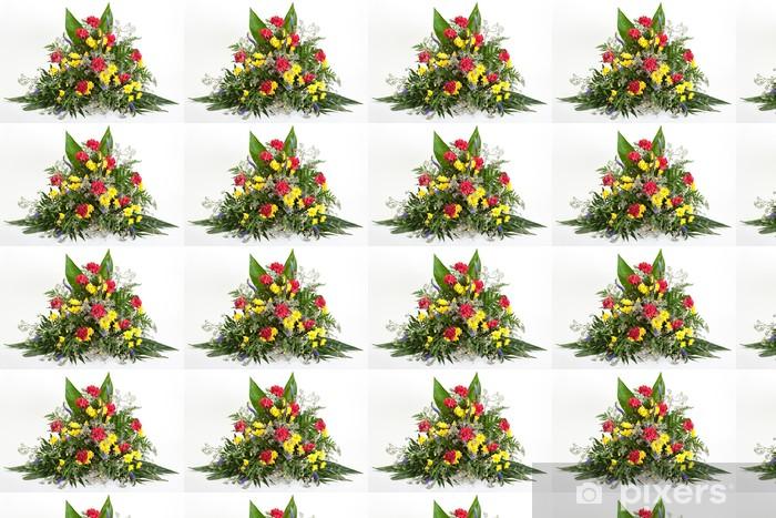 Tapeta na wymiar winylowa Rozmieszczenie kwiatowym - Kwiaty