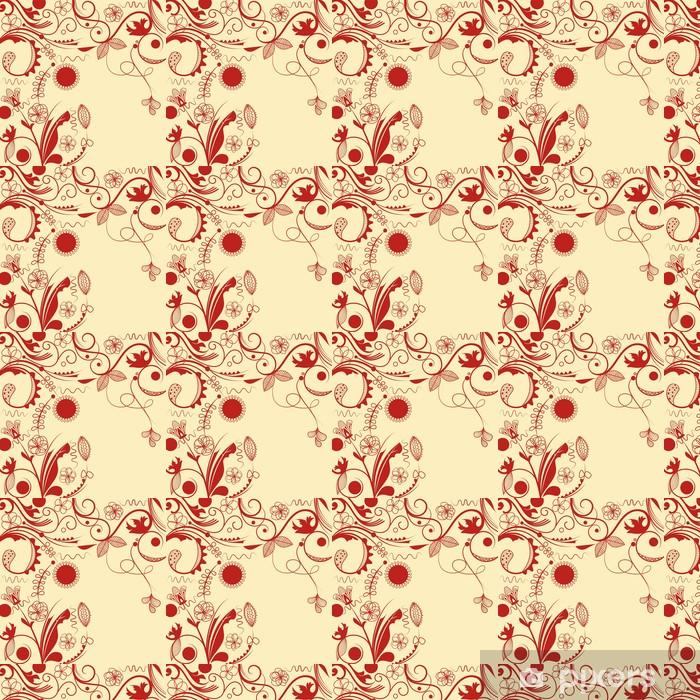 Vector floral frame Vinyl custom-made wallpaper - National Events