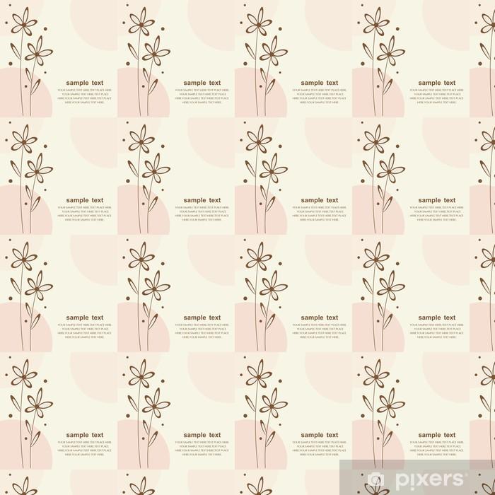 Tapeta na wymiar winylowa Bukiet kwiatów - wektor - Sztuka i twórczość