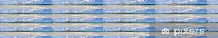 Papier peint vinyle sur mesure La plage Pelosa (composition panoramique) - Europe