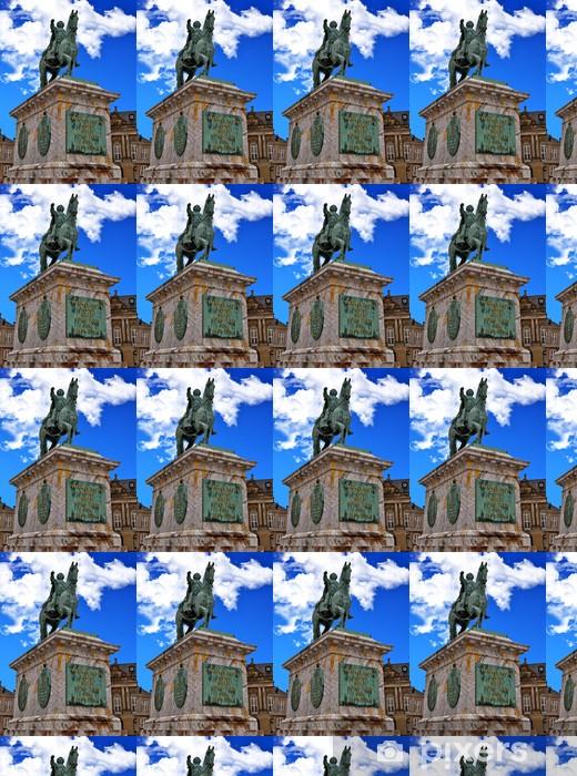 Papier peint vinyle sur mesure Statue de Frederick V Place du palais d'Amalienborg - Europe