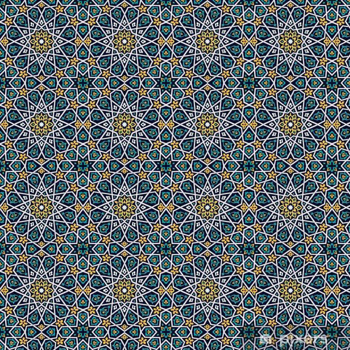 Wohninspiration In Grun Orientalische Tapete
