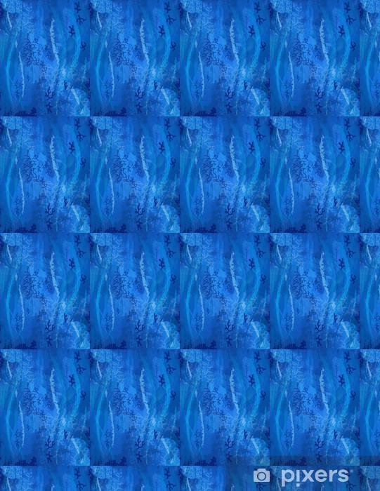 Fond Bleu Sous La Mer Motif Corail Plongée Sous Marine Wallpaper Vinyl Custom Made