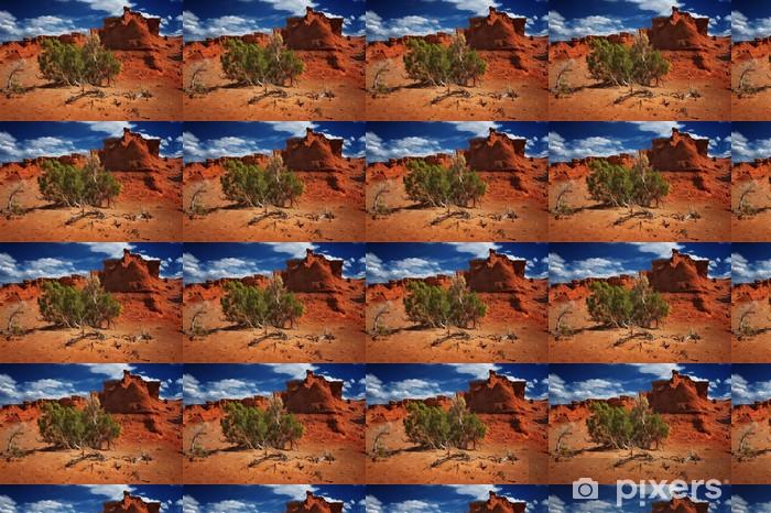 Papier peint vinyle sur mesure Gobi desert roche - Asie