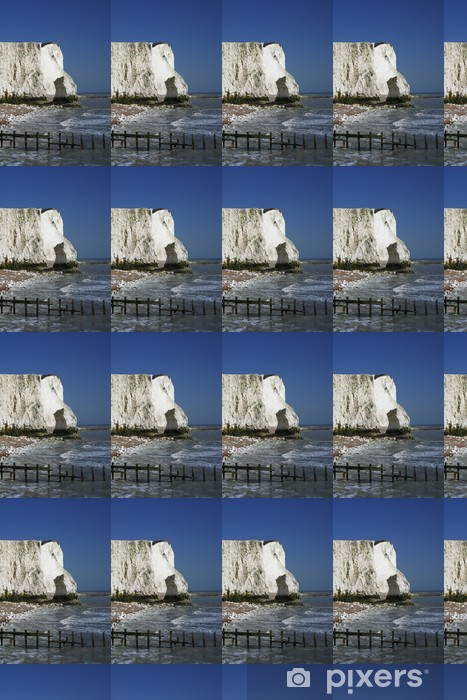 Papier peint vinyle sur mesure Falaises de craie de la côte sussex - Europe