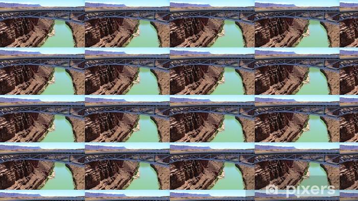 Vinylová tapeta na míru Glen Canyon Dam Bridge - Amerika