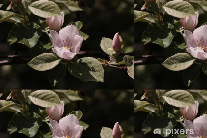 Vinylová Tapeta Lístků - Květiny