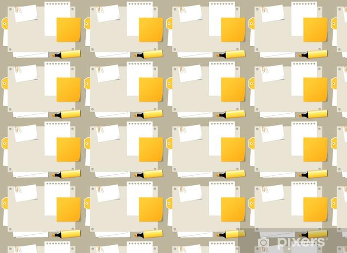 SCRAP orange Vinyl custom-made wallpaper - Sales