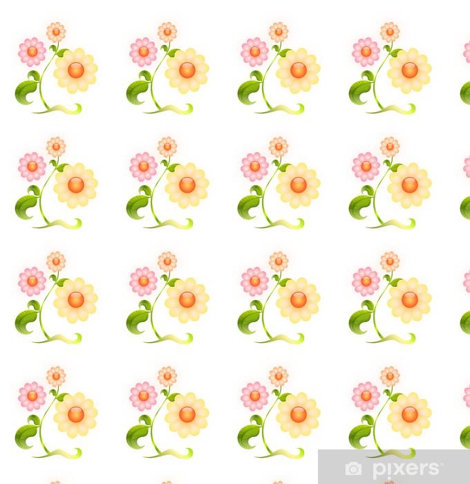 Papier peint vinyle sur mesure Fleurir - Fleurs