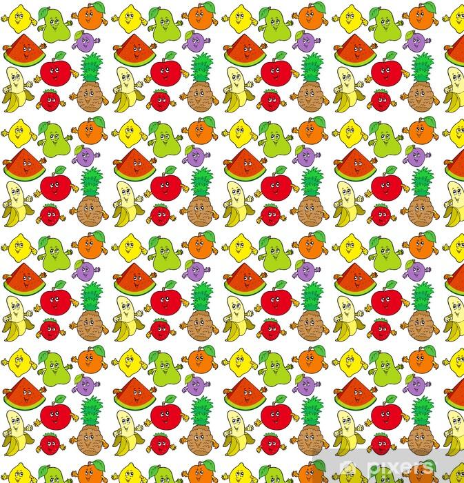 Vinylová tapeta na míru Různé karikatura ovoce - Ovoce
