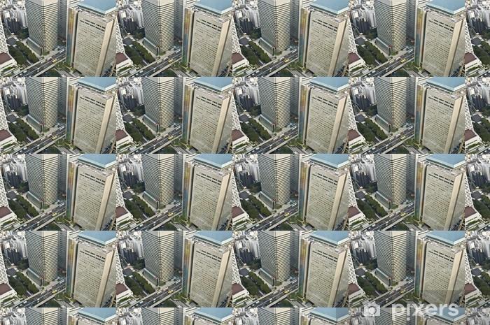 Vinyltapete nach Maß Grattacieli e Strade Sopraelevate a Tokio 01 - Asiatische Städte