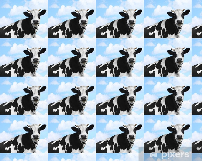 Cow Vinyl custom-made wallpaper - Agriculture