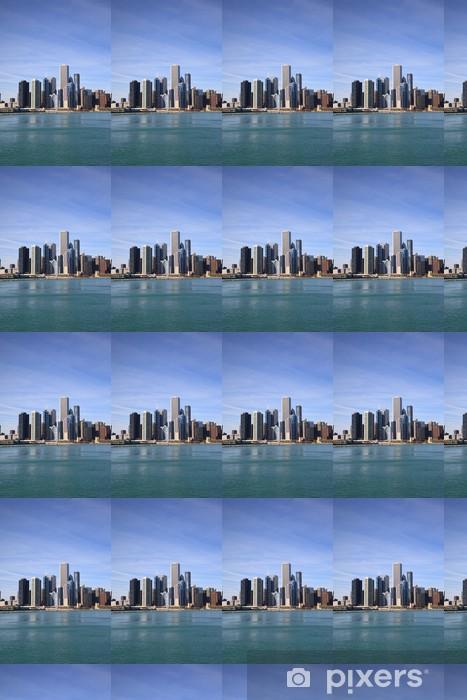 Vinylová tapeta na míru Chicago skyline - Amerika